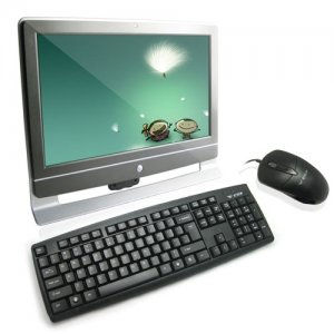 All-in-One PC with 18.5 Inch LCD Screen and Intel Dual Core CPU